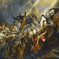 The Fall Of Phaeton by  Peter Paul Rubens