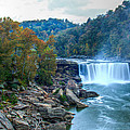 The Falls In Fall by Angela Moore