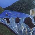 The Falls Of Cenarth by John Williams