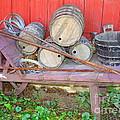 The Farmer's Old Wheelbarrow by Dora Sofia Caputo Photographic Design and Fine Art