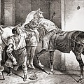 The Farrier, From Etudes De Cheveaux by Theodore Gericault