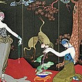 The Fashion For Lacquer by Georges Barbier
