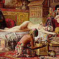 The Favorite Of The Harem by Gyula Tornai