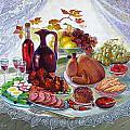The Feast by Lyubov Jiboedova