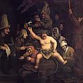 The Feast Of Bacchus, 1654 by Phillips de Koninck