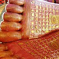 The Feet Of Chaukhtatgyi Reclining Buddha by Ilse Maria Gibson