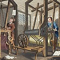 The Fellow Prentices At Their Looms by William Hogarth