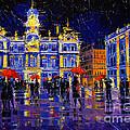 The Festival Of Lights In Lyon France by Mona Edulesco