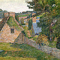 The Field Of Derout-lollichon by Paul Gauguin
