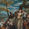 The Finding Of Moses by Paolo Veronese