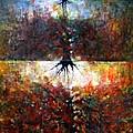 The Fire Of Forest-the Fire Of Heart by Wojtek Kowalski