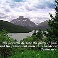 The Firmament  Psalm 19 1  by Barb Dalton