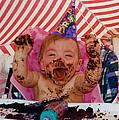 The First Birthday Cake by Ron Haist