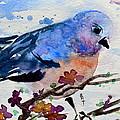 The First Bluebird by Beverley Harper Tinsley