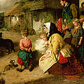 The First Break In The Family by Thomas Faed