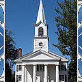 The First Church Of Evans In New York State by Rose Santuci-Sofranko