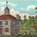 The First State Capitol Building - Chillicothe Ohio by Charles Robinson