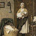 The Firstborn, 1875 by David Adolph Constant Artz