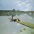 The Fisherman, 1884 by Jean Louis Forain