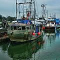 The Fishing Boat Genesta Hdrbt4240-13 by Randy Harris