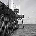 The Fishing Pier by Kelley Freel-Ebner