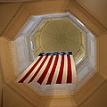 The Flag - Maryland State House by Christiane Schulze Art And Photography