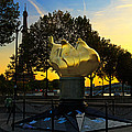 The Flame Of Liberty In Paris by Louise Heusinkveld