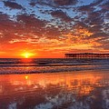The Flame Of Pacific Beach by Nathan Rupert