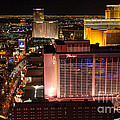 The Flamingo And The Vegas Strip by Eddie Yerkish