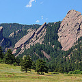 The Flatirons by Bob Hislop