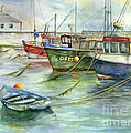 The Fleet Is In At Dingle by Valerie Lloyd