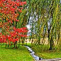 The Flow Of Autumn by Steve Harrington