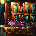 The Flower Box - Scratch Art Series - #31 by Steven Lebron Langston