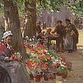 The Flower Seller by William Kay Blacklock