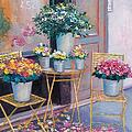 The Flower Shop Paris by Jan Matson