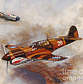 The Flying Tigers by Dick Bobnick