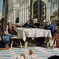 The Foot Washing by Tintoretto