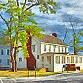 The Former Sleeping Bear Inn / Glen Haven Michigan by Digital Photographic Arts