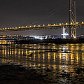 The Forth Road Bridge by Ross G Strachan