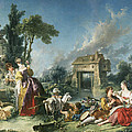 The Fountain Of Love by Francois Boucher