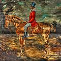 The Fox Hunt With Light Antique Store Mural Griffin Georgia Art by Reid Callaway