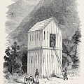 The French Block House Prison by English School