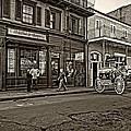 The French Quarter Sepia by Steve Harrington