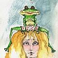 The Frog And The Princess by Angel Ciesniarska