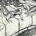The Frogs And The Well by Arthur Rackham