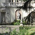 The Garden At The Pope's Private Residence by Deborah Smolinske