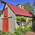The Garden Barn by Gordon Elwell
