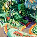 The Garden by Francisco Iturrino