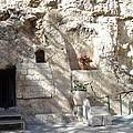 The Garden Tomb  In Jerusalem by Karen Jane Jones