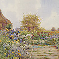 The Gardens At Chequers Court by Ernest Arthur Rowe